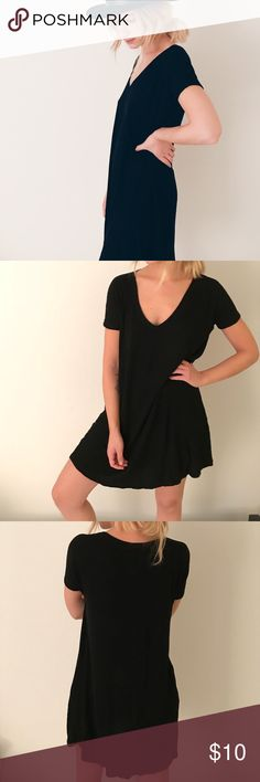 Brandy Melville Knit Dress Black knit dress. One Size Brandy Melville Dresses Mini