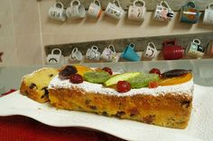 Nati recetas caseras: PLUM CAKE O BIZCOCHO DE NAVIDAD
