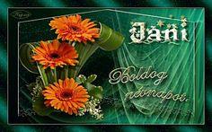 János névre szóló képeslap