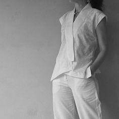 Issey Miyake blouse                                                                                                                                                                                 More