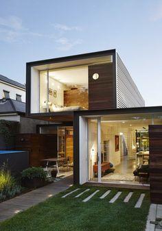 'THAT House'라고 명명된 호주 멜버른의 이 주택의 주변에는 대형 주택가가 주를 이루고 있다고 합니...