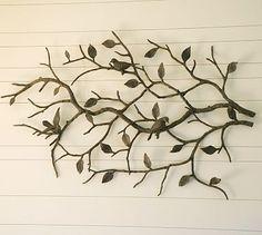 metal tree with birds $449