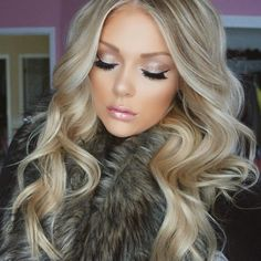 "BELLAMI Hair® on Instagram: ""Faux fur and flawless hair @kelly_janexx truly…"