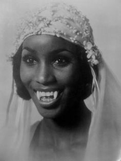 """Teresa Graves as Vampira in the 1974 movie ... sometimes titled Old Dracula. Starred in """"Get Christy Love"""""""