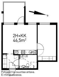 Vähäntuvantie, Konala, Helsinki, 2h+kk 46,5 m², SATO vuokra-asunto