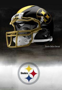 Pittsburgh Steelers helmet Charles Sollars concept