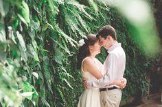Engaged: Tina & John   Longwood Gardens