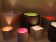 A selection of different sizes and colours. Tealight holders, sparkly, glittery, perfect gift.