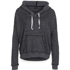 DC Shoes JEMMA Sweatshirt ($77) ❤ liked on Polyvore featuring tops, hoodies, sweatshirts, sweaters, jackets, shirts, grey, women's outerwear, grey sweatshirt and hooded pullover