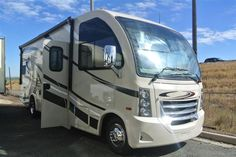 2016 New Thor Motor Coach VEGAS 25.2 Class A in Colorado CO.Recreational Vehicle, rv, 2016 THOR MOTOR COACH VEGAS25.2, 12V Attic Fan in Bedroom, 12V Attic Fan in Living Area, 15.0 BTU A/C, 32in Exterior TV, 32in TV in Bedroom, Cabinetry-Olympic Cherry, Holding Tanks w/Heat Pads, Interior-Polished Pewter, Second Auxiliary Battery, Symphony Red,