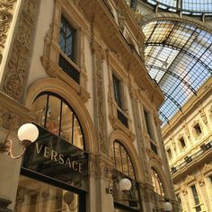 Versace 🥀✨ awesome Tagged with Versace aestethic buildings chic city designer europe expensive fancy luxury places rome style travel world