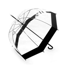 Lavievert Bubble Umbrella Birdcage Clear Umbrella with Black border -- For more information, visit now : Christmas Luggage and Travel Gear