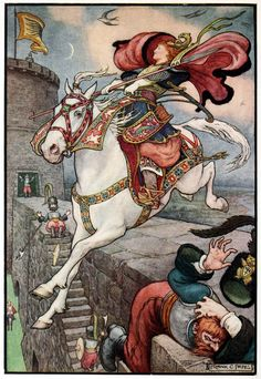 Art by Frank Cheyne Pape (1916) Russian Story Book.