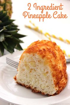 If you are needing a super easy dessert idea, this 2 Ingredient Pineapple Cake will be perfect for you to make. Yup… Just two ingredients and you can have an awesome perfect for summer time picnic…More Brownie Desserts, Oreo Dessert, Mini Desserts, Easy Desserts, Easy Sweets, Dessert Ideas, Food Cakes, Cupcake Cakes, Pastries