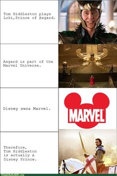 The truth about Loki, and this also goes for Thor! My life is complete!!!