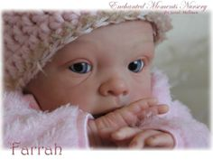 Enchanted Moments Nursery~Reborn Baby Girl~Farrah~Sophie kit by Evalina Wosjnuk