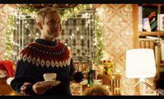 John rocking the Christmas sweater, Series 2, Episode 1