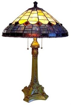 Tiffany Style Lighting - Heather Romance Tiffany Style Table Lamp, $225.00 (http://www.tiffanystylelighting.us/heather-romance-tiffany-style-table-lamp/)