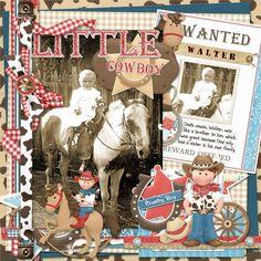 Little Cowboy - Scrapbook.com