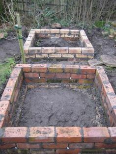 DIY Brick Raised Garden Beds - durable, easy & beginner friendly... #gardening #diy #homesteading