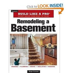 Finishing a basement is one of the fastest and most cost-effective ways to increase living space in a home. This book helps readers visualize the vast possibilities that exist for this challenging space, and go about the remodeling process in an o. Attic Renovation, Basement Renovations, Home Remodeling, Basement Ideas, Basement Designs, Basement Decorating, Rustic Basement, Basement Inspiration, Quartos