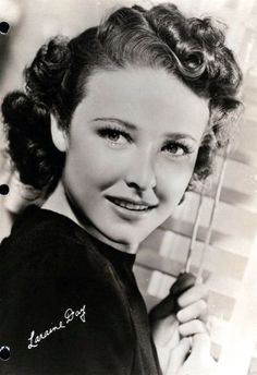 Laraine Day - (1920-2007) born La Raine Johnson.  Also known as Laraine Hays.  MGM contract player.  Stage performer and became part of a theatre touring company.  Strict Mormon.