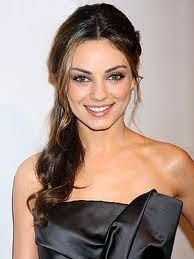 i think Mila Kunis is absolutely gorgeous.