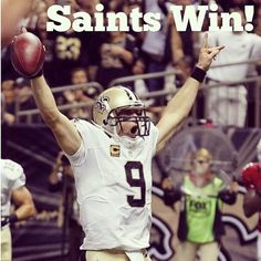 Who Dat!!! New Orleans Saints! Drew Brees