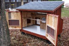 Building A DIY Chicken Coop If you've never had a flock of chickens and are considering it, then you might actually enjoy the process. It can be a lot of fun to raise chickens but good planning ahead of building your chicken coop w Small Chicken Coops, Portable Chicken Coop, Chicken Coop Designs, Best Chicken Coop, Backyard Chicken Coops, Building A Chicken Coop, Chickens Backyard, Backyard Coop, Large Chicken Coop Plans