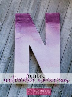watercolor monogram 9a