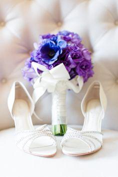 Wedding Flower & Shoe Details
