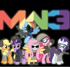 Mlp call of duty