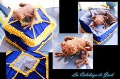 Crochet chocolate frog - Harry Potter by on DeviantArt Chocolate Frogs Harry Potter, Harry Potter Crochet, Crochet Amigurumi Free Patterns, Harry Potter World, Teddy Bear, Birthday, Artist, Fabric, Sewing