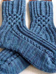 Jeans socken Pattern in German and Engllish