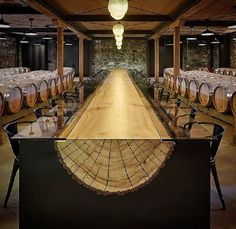 Describe this wooden table in one word