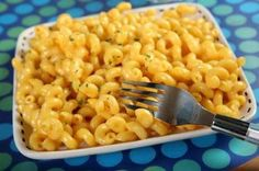 "Vegan Macaroni and ""Cheese"" (with nutritional yeast) - Sub almond milk for the soy"