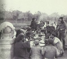 Alghero, festa del Carmine, 1908