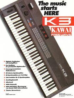 KAWAI K3 Anzeige 2 1986