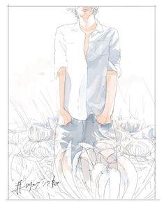Pretty Art, Cute Art, Boy Art, Fantastic Art, Aesthetic Anime, Anime Art, Manga Art, Art Drawings, Pose