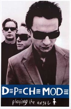 Dave Gahan, Martin Gore, and Andy Fletcher are Depeche Mode! An awesome poster from the release of their 11th LP Playing the Angel! Ships fast. 11x17 inches. Need Poster Mounts..?