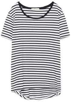 The striped shirt is a wardrobe staple across the globe, just ask any Parisian girl. Zara t-shirt, $10, zara.com.