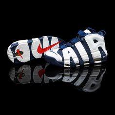 """f856dc42e8d0 FLIGHT CLUB • Nike Air More Uptempo """"Olympic"""" (at Flight Club) Basketbalové"""