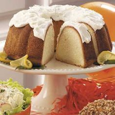 California Lemon Pound Cake! Made this today and it is now replacing my old recipe. The frosting was amazing and the cake could not have been better! And so easy, too!