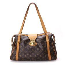 Louis Vuitton Stresa PM Monogram Shoulder bags Brown Canvas M51186