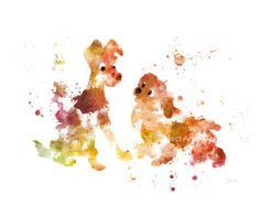 Tigger Winnie the Pooh lámina Ilustración arte de la por SubjectArt