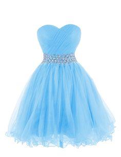 Tidetell 2015 Strapless Royal Blue Homecoming Beaded Short Prom Dresses Ball Gowns   Blue