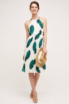 Pin for Later: 26 Pineapple Pieces So Sweet, You Won't Be Able to Resist  Sunday in Brooklyn Pineapple Midi Dress ($148)