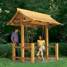 Project Plans: Sheltered Swing - Handyman Club - Scout