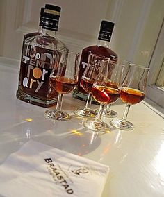 Braastad Cognac XO Contemporary. A limited edition with bottle design and packaging by Snøhetta and A-ha Keyboardist Magne Furuholmen.
