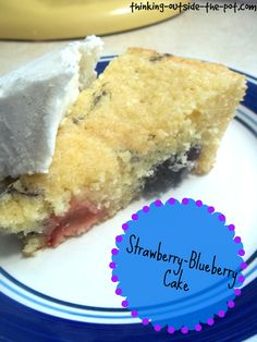 Strawberry-Blueberry Cake
